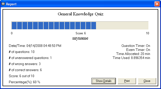 Exam Practice Software